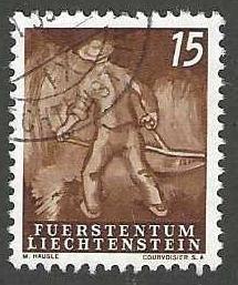Liechtenstein 249  Used