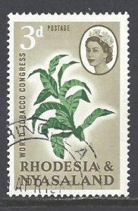 Rhodesia & Nyasaland Sc # 184 used (RS)