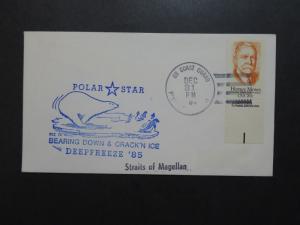 US 1984 Antarctic Polar Star Straits of Magellan Cover - Z9231