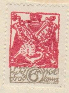 Central Lithuania Mittellitauen Lituanie Lituania 1920 6m MH* A8P11F126