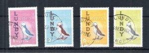 LUNDY: 1962 EUROPA SET USED