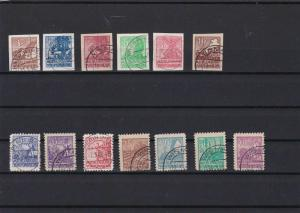 ALLIED OCCUPATION RUSSIA ZONE 1946 STAMPS CAT £445 R 2697