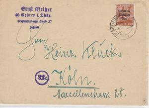 German Postal History Stamps Cover Ref: R4632