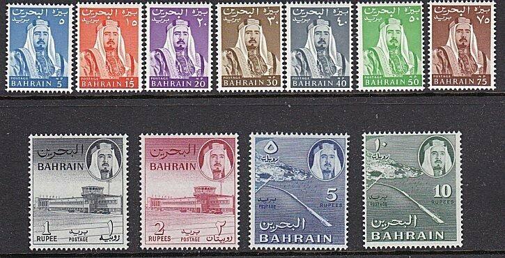 BAHRAIN 1964 Definitive set fresh MNH.......................................L346