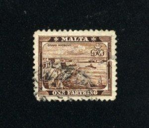 Malta #19  used 1901 PD