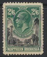 Northern Rhodesia  SG 12 SC# 12 Used  - see details