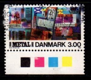 Denmark -  #858 Metalworkers Union - Used
