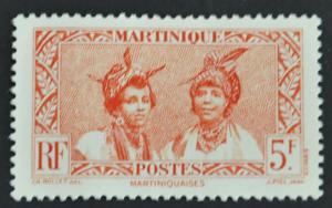 DYNAMITE Stamps: Martinique Scott #170 – UNUSED