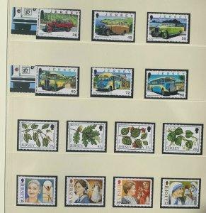 JE97) Jersey 2011 Transport Part III (6) + Forests (4) + Women of Achievements