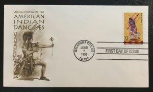 #3076 FDC American Indian Dances - Oklahoma City, OK June 7, 1996