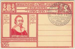 64905 - NETHERLANDS - POSTAL HISTORY:  STATIONERY CARD -  JUSTICE 1925