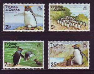 Tristan da Cunha Sc 191-94 1974 Penquins stamp set mint NH