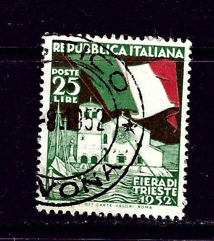 Italy 607 Used 1952 issue