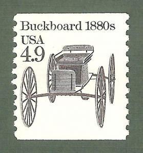 2124 Buckboard US Single Mint/nh (Free Shipping)