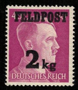 1944, Feldpost, Overprinted Deutsches Reich 2kg, 40 Pfg., Germany (T-9542)