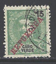 Cape Verde Sc # 88 used (RRS)