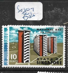 SINGAPORE  (PP0107B) NATIONAL DAY SG  80-1   MOG