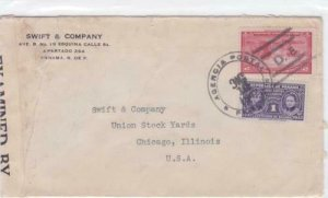 panama 1942  censor   stamps cover ref r16147