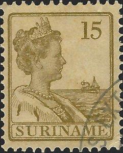 Surinam #95, Used