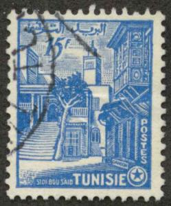 Tunisia 252 Used F-VF cr