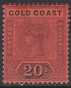Gold Coast 1894 SC 25 Mint