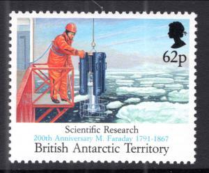 British Antarctic Territory 187 Ship MNH VF