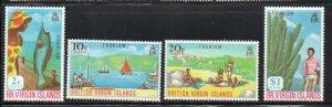 British Virgin Islands Sc 202-5 1969 Tourist Publicity  stamp set mint NH