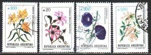 Argentina. 1989. 1980-83. Flowers, flora. USED.