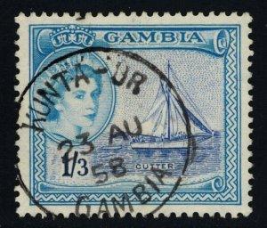 Gambia Scott 161 Used.