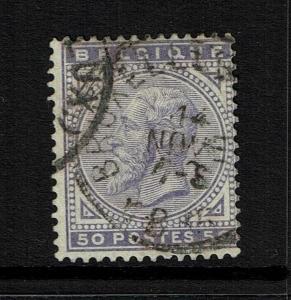 Belgium SC# 48 - Used (Tiny Hinge Thin) - 052117