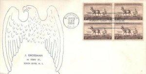 1078 3c WILDLIFE - PROGHORN ANTELOPE - J. Grossman