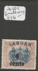 Labuan SG 134 MOG (3cwt)