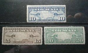 US #C7-9 MNH e201.6154