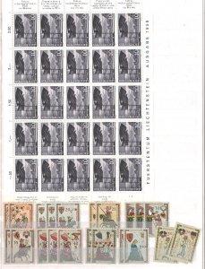 Liechtenstein Accumulation MNH/Used CV$2880.00 1912-1994 In Lindner Stock Alb...