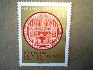 1965  Austria  #743  MNH