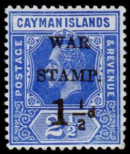 Cayman Islands Scott MR2 (1917) Mint H F-VF M