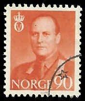 Norway - 369 - Used - SCV-0.25