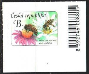 Czech Republic. 2020. 1067. Bees, flowers. MNH.