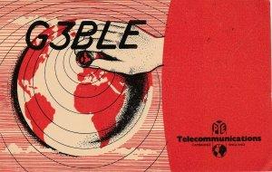 7281 Amateur Radio QSL Card  CAMBRIDGE ENGLAND