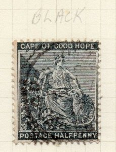 Cape of Good Hope 1884 Early Issue Fine Used 1/2d. 284467