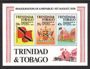 Trinidad and Tobago 274a Souvenir Sheet MNH VF