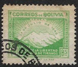Bolivia # 320 - 1st. Anniv. of Revolution - used