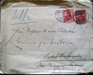 Germany DT Letter 1914