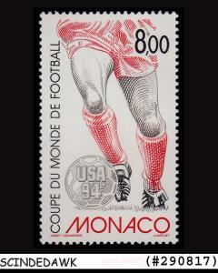 MONACO - 1994 WORLD CUP FOOTBALL CHAMPIONSHIP USA 1V MINT NH