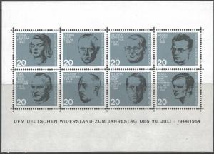 GERMANY 890a MNH SS [D5]-2