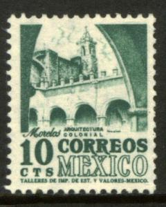 MEXICO 876, 10cents 1950 Definitive 2nd Printing wmk 300. MINT, NH. F-VF.