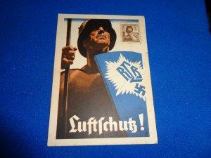 GERMANY WWII PROPAGANDA MAXI CARD