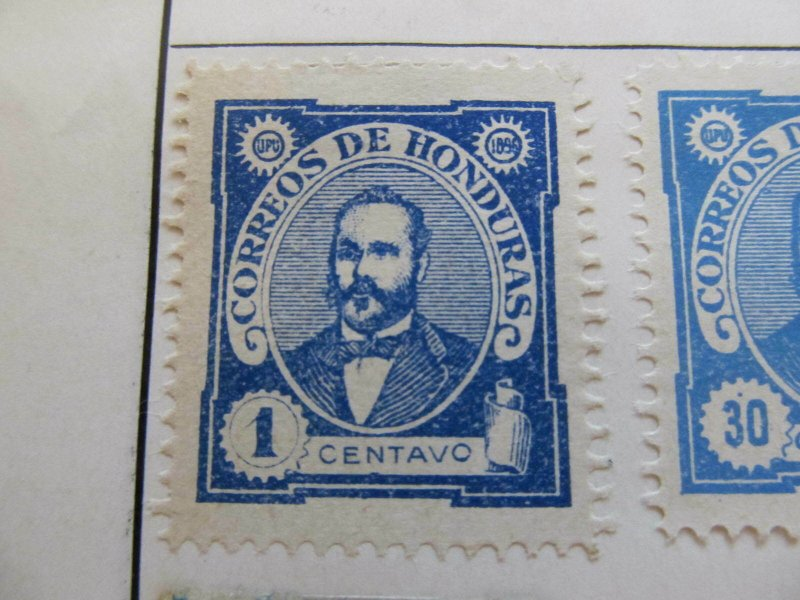 Honduras 1896 1c fine mng stamp A11P12F40
