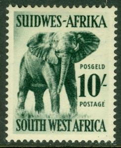 EDW1949SELL : SOUTH WEST AFRICA 1954 Scott #260 Elephants VF, Mint OG LH Cat $37