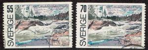 Sweden # 851 - 852 U